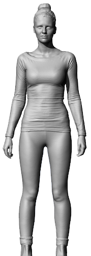 We take your body size & body type to create a 3D virtual mannequin so you can shop for online shopping websites.